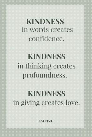 Lao Tzu - Kindness